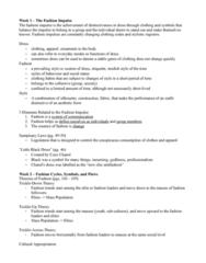 FSN 223 Chapter Notes -Fashion Capital, Black Model, Jessica Simpson