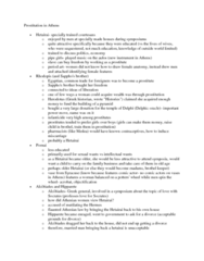 CLAS 2051 Lecture Notes - Hetaira, Aulos, Miscarriage