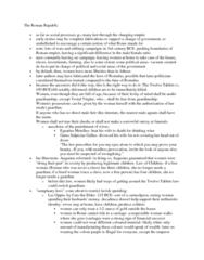 CLAS 2051 Lecture Notes - Vestal Virgin, Egnatius, Patrilineality