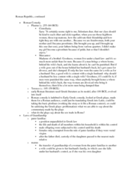 CLAS 2051 Lecture Notes - Pater Familias, Syros, Freedman