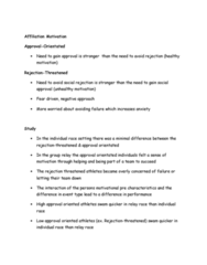 PEDS303 Lecture Notes - Lecture 12: Relay Race, Negative Approach, Normative Social Influence