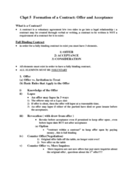 ACTG 2P40 Lecture Notes - Option Contract