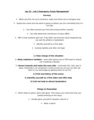 Jan 23 - Emergency Scene Management.doc