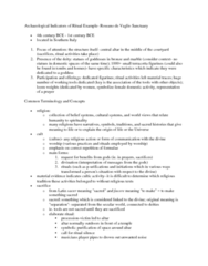 CLAS 2531 Lecture Notes - Sacred History, Altar Call