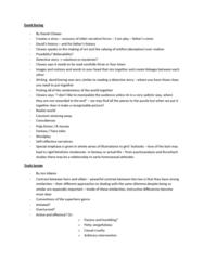 ENG235H1 Study Guide - Final Guide: Daniel Clowes, Christopher Sorrentino, David Boring