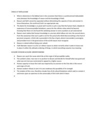 fides et ratio chapter summary