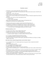 POL200Y1 Lecture Notes - Hoplite, Advantageous, Athenian Democracy