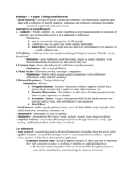 SOC221H5 Study Guide - Midterm Guide: Null Hypothesis, Theoretical Definition, Statistical Hypothesis Testing