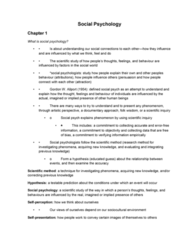 All Social Psychology Notes-1.docx