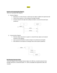 ITM 430 Lecture Notes - Lecture 4: List Of Unified Modeling Language Tools, Sequence Diagram