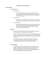 ES295 Lecture Notes - Gossling, Dune, Land Degradation