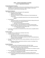AYB321 Lecture Notes - Management Accounting
