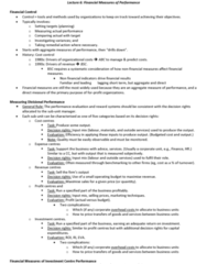 AYB321 Lecture Notes - 0 (Year), Horizon Problem, Economic Value Added