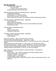 Biology 4218A Study Guide - Aflatoxin B1, Itch, Tempeh