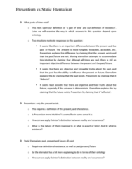 PHIL 325 Study Guide - B-Theory Of Time, Circular Definition, Special Relativity
