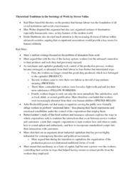 SOC341H5 Chapter Notes -Arlie Russell Hochschild, Emotional Labor, Anomie