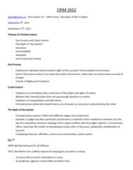 CRIM 2652 Study Guide - Final Guide: Summary Offence, Colt Official Police, Homicide