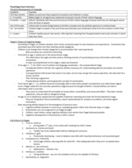 PSYC 1030H Study Guide - Final Guide: Personality Disorder, Intellectual Disability, Cognitive Development