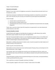 SOCA01H3 Lecture Notes - Gini Coefficient, Iceberg, Materialism