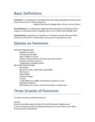 WS100 Study Guide - Midterm Guide: Friedrich Engels, Eleanor Roosevelt, Goddess Movement