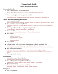 PSYC 121 Study Guide - Midterm Guide: Bipolar Disorder, Cognitive Dissonance, Anxiety Disorder