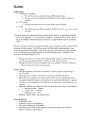 SOSC 111 Lecture Notes - Norbert Elias, Richard Speck, Cesare Lombroso