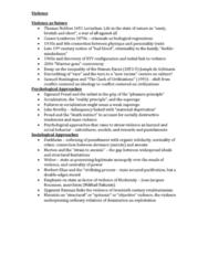 SOSC 111 Lecture Notes - Cesare Lombroso, John Bowlby, Sigmund Freud