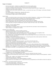 PSYC 3100 Lecture Notes - Nematode, Epigenetics, Kin Selection