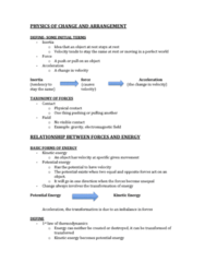 BIOL 1210 Lecture Notes - Kinetic Energy
