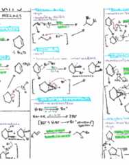 ALL ORGANIC CHEMISTRY REACTIONS - Review Sheets