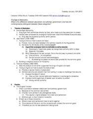 HIST 215 Lecture Notes - Philosophes, Westernization, Girdle