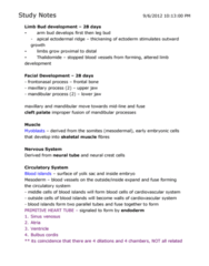 KINESIOL 1A03 Lecture Notes - Endometrium, Endolymph, Inner Cell Mass