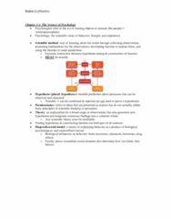 PSYA01H3 Study Guide - Midterm Guide: Reticular Formation, Trichromacy, Multiple Sclerosis