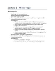 RSM251H1 Lecture Notes - Event Segment, Loyalty Program, Vertical Integration