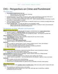 CRIM 241 Chapter Notes -Kingston Penitentiary, Prison Reform, Penitentiary Act