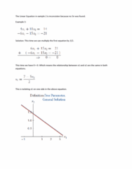 MAT223H1 Chapter Notes - Chapter 1.1: Free Variables And Bound Variables, Linear Equation