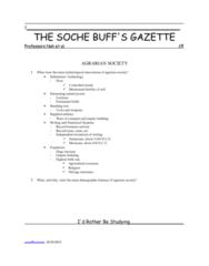 agrarian-society-notes