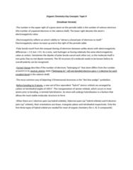 Chemistry 1027A/B Lecture Notes - Organic Chemistry, Orbital Hybridisation, Electronegativity