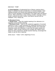james-joyce-araby-analysis