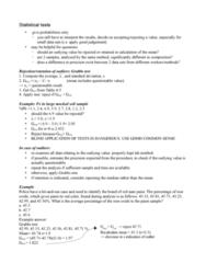 ENCH 213 Study Guide - Quiz Guide: F-Test, Lead, Standard Deviation