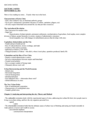 SOC101Y1 Chapter Notes -Urban Density, Urban Sociology, Urban Renewal