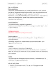 CCT210H5 Study Guide - Midterm Guide: Epistemic Modality, Traffic Light, Binary Opposition