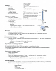 ENCH 213 Lecture Notes - Titration Curve, Titration, Equivalence Point