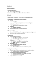 PSYC 1000 Study Guide - Final Guide: Ke Family, Foxp2, Generalized Anxiety Disorder