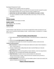 SOCA01H3 Chapter Notes - Chapter 1: Class Consciousness, Welfare, Global Catastrophic Risk