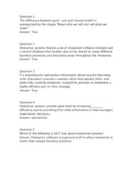 ITM 102 Study Guide - Quiz Guide: Churn Rate, Lead Management, Enterprise Software