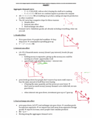 ECON 1BB3 Study Guide - Microeconomics, Classical Dichotomy, Real Wages