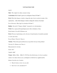 KNES 373 Study Guide - Final Guide: Glycogen, Lean Body Mass, Exercise Intensity