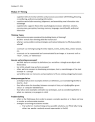 PSYC 1000 Lecture Notes - Frontal Lobe, Aisle, Confirmation Bias