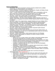 ANT 2000 Lecture Notes - American Anthropological Association, Ethnobiology, Ethnocentrism